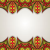 Decorative Background With Bright Border Royalty Free Stock Photo