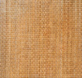 Decorative background of brown handicraft weave texture wicker s Royalty Free Stock Images