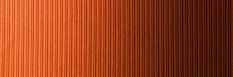 Decorative background brown orange color, striped texture horizontal gradient. Wallpaper. Art. Design. Decorative background brown orange color, striped texture royalty free stock photo