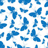 Decorative background with butterflies Royalty Free Stock Images