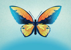 Decorative background with butterfly Royalty Free Stock Images