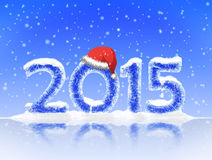 Decorative background for Christmas and the New Year Stock Photos