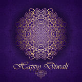 Decorative background for Diwali Royalty Free Stock Image