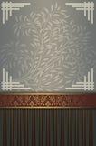 Decorative background with elegant border. royalty free stock photo