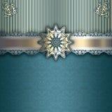 Decorative background with elegant patterns. Royalty Free Stock Photos