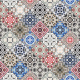 Decorative background in ethnic style. Royalty Free Stock Photos