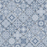 Decorative background in ethnic style. The rich decoration of abstract patterns for construction of fabric or paper. Vector illustration Royalty Free Stock Photo