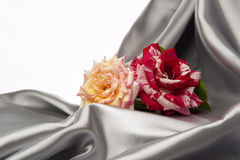 Decorative background fabric Royalty Free Stock Image