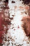 Coated metal. Decorative background of old metal, prone to corrosion. Decorative background of old metal, prone to corrosion.The rust on the metal shows through Royalty Free Stock Photo