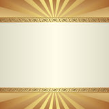 Decorative  background. With ornamental border Stock Images