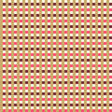 Retro seamless striped pattern. Stock Images