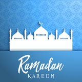 Decorative background for Ramadan Royalty Free Stock Images