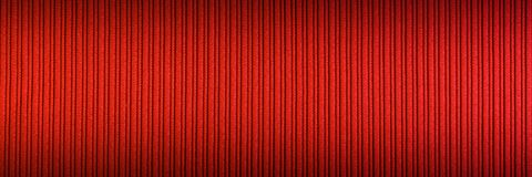 Decorative background red orange color, striped texture upper and lower gradient. Wallpaper. Art. Design.  royalty free stock image