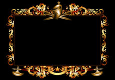 Decorative background in retro style Royalty Free Stock Image
