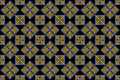 Decorative Background with Shining Squares Stock Photography
