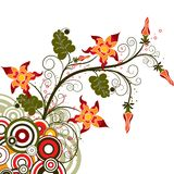 Decorative background, vector Royalty Free Stock Photography