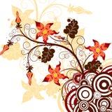 Decorative background, vector Stock Photos