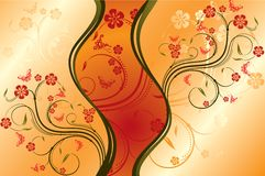 Decorative background, vector Royalty Free Stock Photo