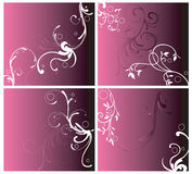 Decorative backgrounds Stock Photography