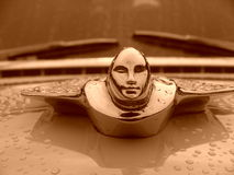 Decorative badge on car Royalty Free Stock Photos