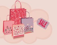 Decorative bags Stock Photos