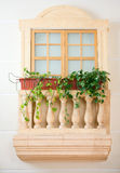 Decorative balcony Royalty Free Stock Photos