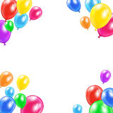 Decorative balloons Royalty Free Stock Image
