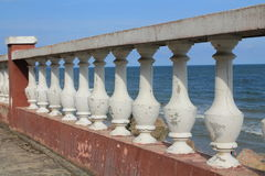Decorative balustrade railings Stock Image