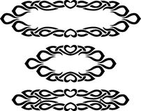 Decorative Band and Border Royalty Free Stock Images