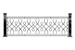 Decorative banisters, fencing. Stock Photo