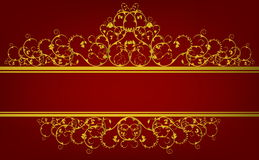 Decorative banner Royalty Free Stock Photo