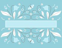 Decorative banner Royalty Free Stock Images