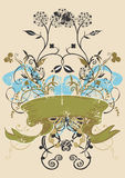 Decorative banner stock images
