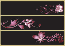 Decorative banners Royalty Free Stock Images