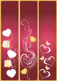 Decorative banners Stock Photography