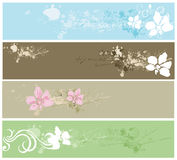 Decorative banners Royalty Free Stock Image