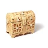Decorative bark box Stock Photography