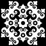 Decorative baroque ornament Royalty Free Stock Photo