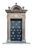 Decorative baroque palace doors isolated Royalty Free Stock Photos