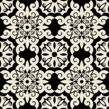 Decorative baroque pattern Stock Photos