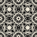Decorative baroque pattern Stock Image