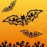 Decorative bat Stock Photo