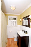 Decorative Bathroom. Decorative New England Style Bathroom Royalty Free Stock Images