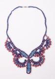 Decorative bead necklace Stock Photos