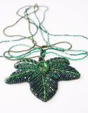 Decorative bead necklace Royalty Free Stock Photos