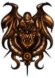 Decorative beast amulet Stock Photos