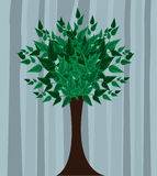 Decorative Beautifull Abstract Tree illustration Royalty Free Stock Photo