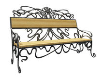 Decorative Bench Royalty Free Stock Photos