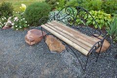 Decorative bench Royalty Free Stock Photo