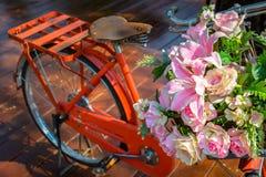 Decorative bicycle Royalty Free Stock Photos